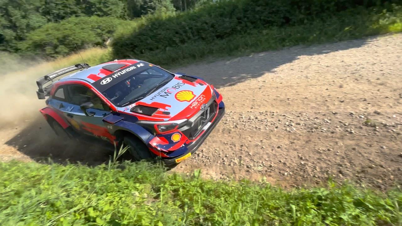 Neuville Rally Estonia 2021 eelne test, Valmar Viisel