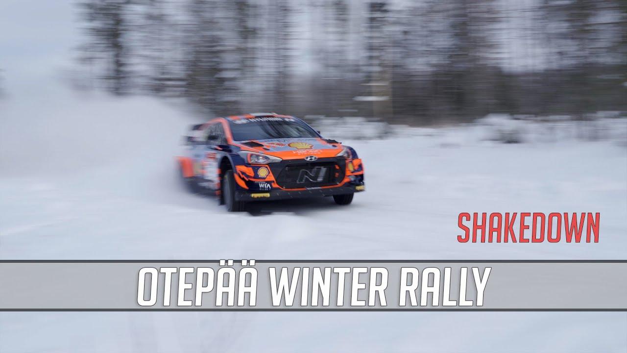 WRC meeste Otepää Talveralli eelne test