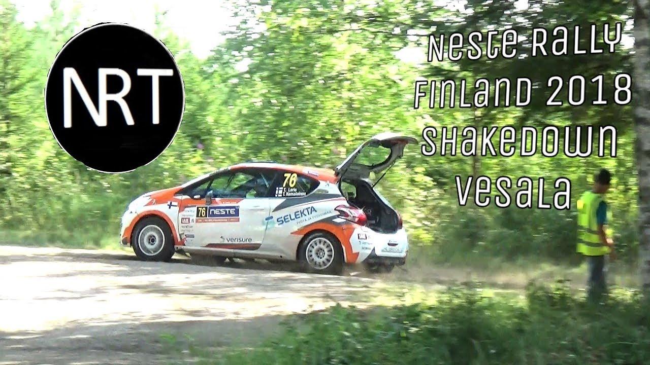 Soome ralli 2018 - testikatse, NRT