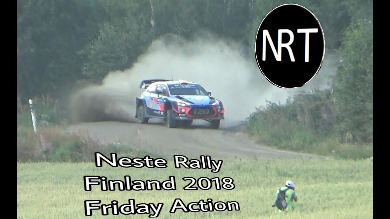 Soome ralli 2018 - 2. päev, ülevaade, NRT