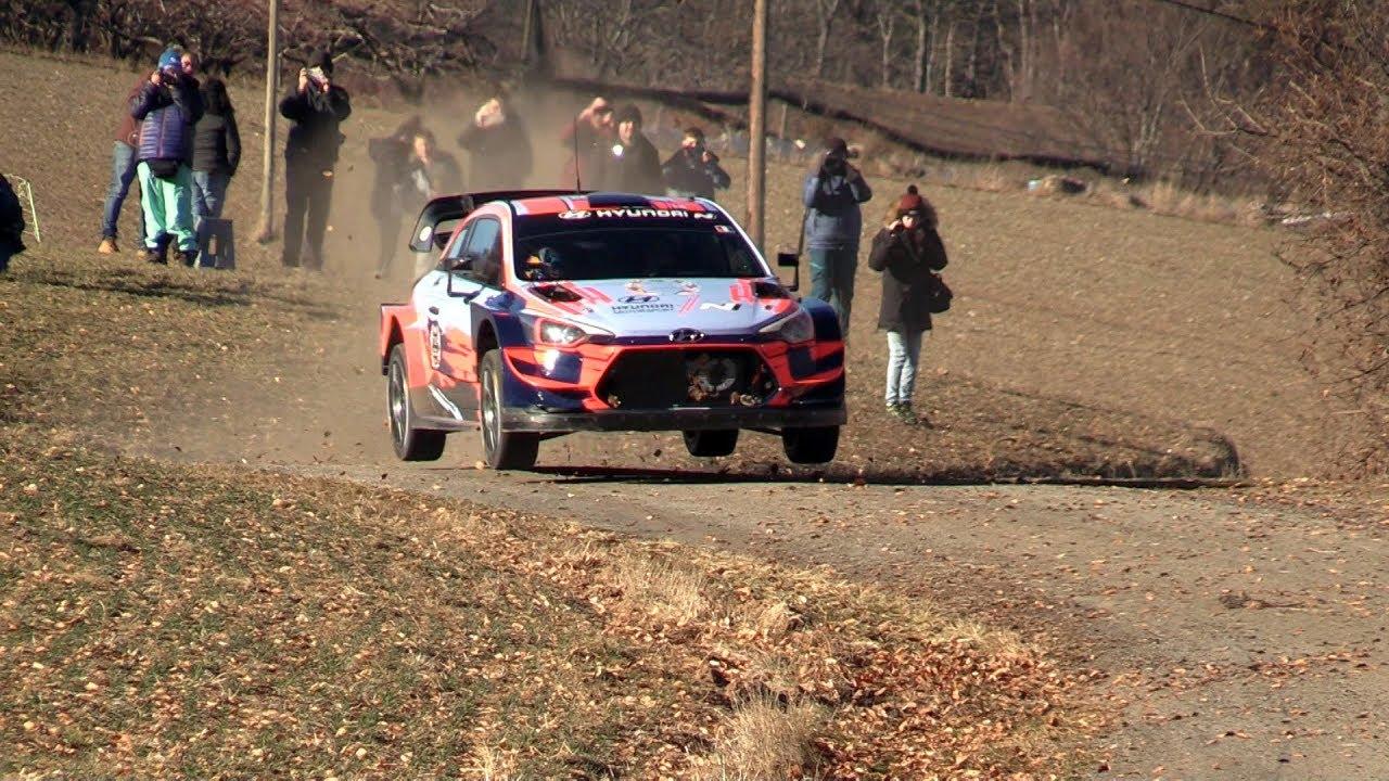 Monte Carlo ralli 2020 - rallieelne test, Loeb ja Hyundai - Rallye Luminy
