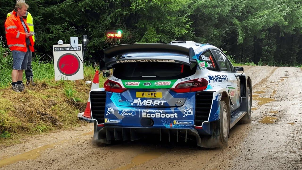 M-Sport poolt korraldatud Rally Stages järelvaade