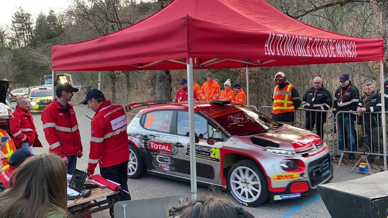 Monte Carlo ralli 2020 - shakedown testikatse, Rallye Monte Carlo