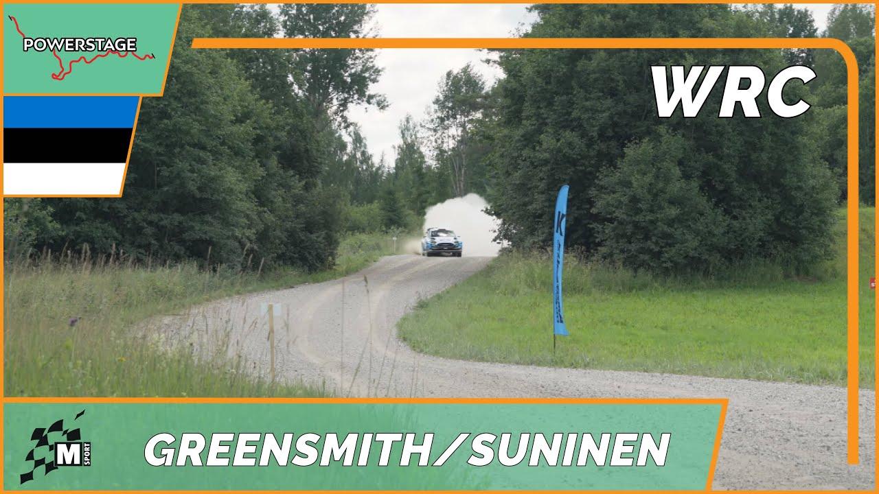 Greensmith ja Suninen testimas Rally Estoniaks, 2. päev, Powerstage