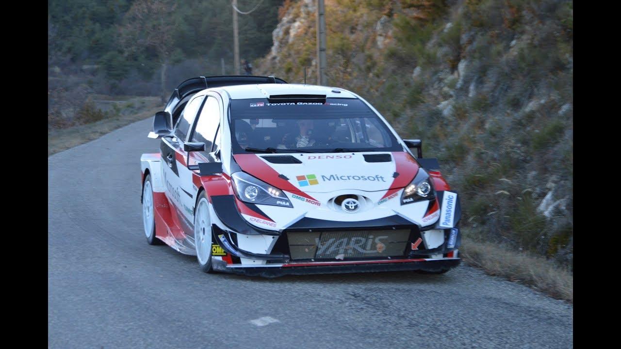 Monte Carlo ralli 2019 - rallieelne test, Tänak, Bat Rallye