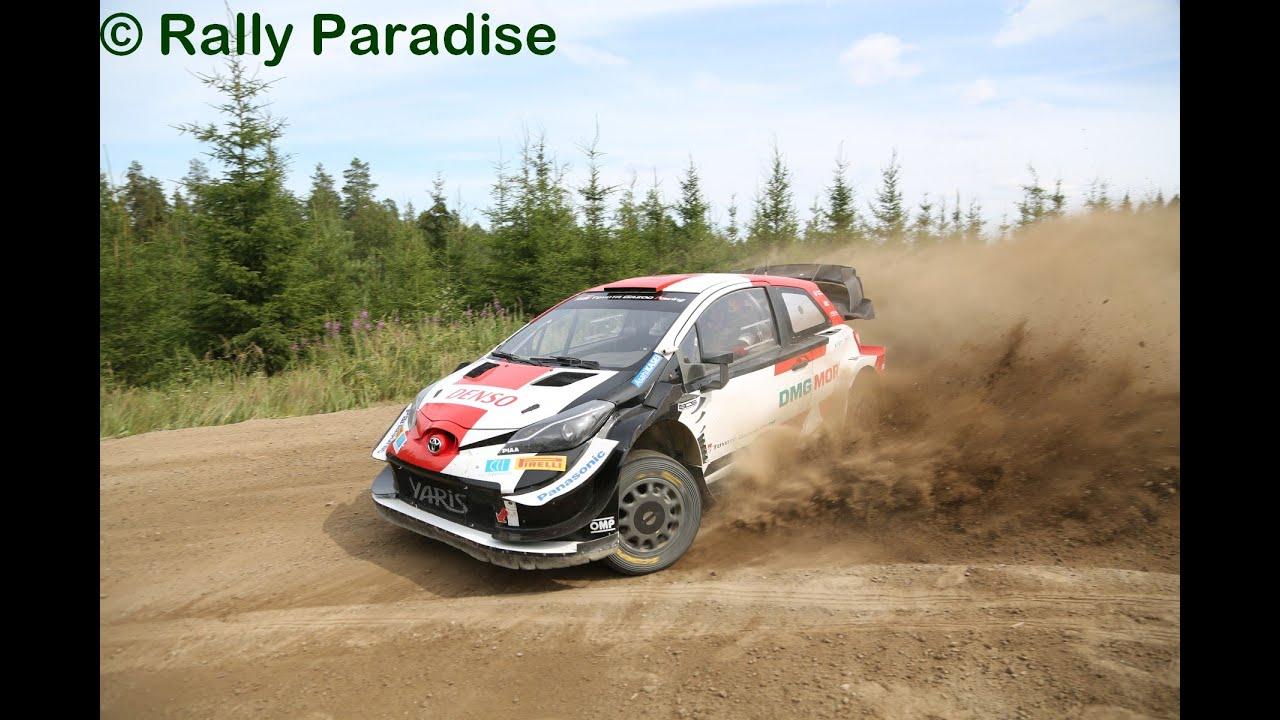 Evans testimas Soomes Rally Estoniaks, Rally Paradise