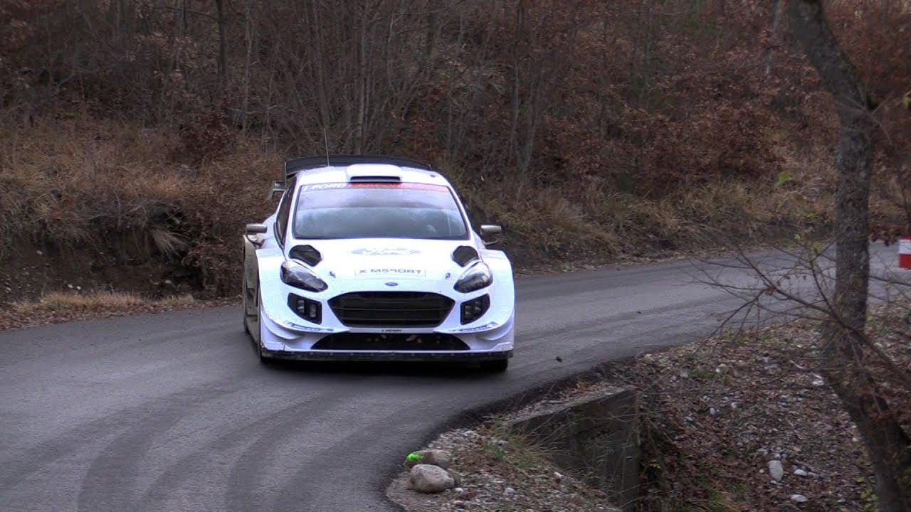 Monte Carlo ralli 2019 - rallieelne test, Suninen