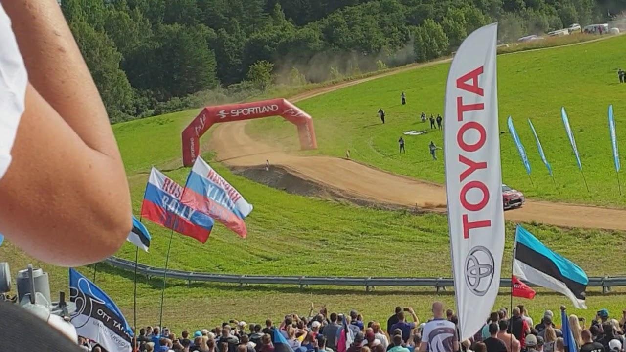 Rally Estonia 2019 SS1 TOP autode hüpete stiilinäited, Jauni Auto