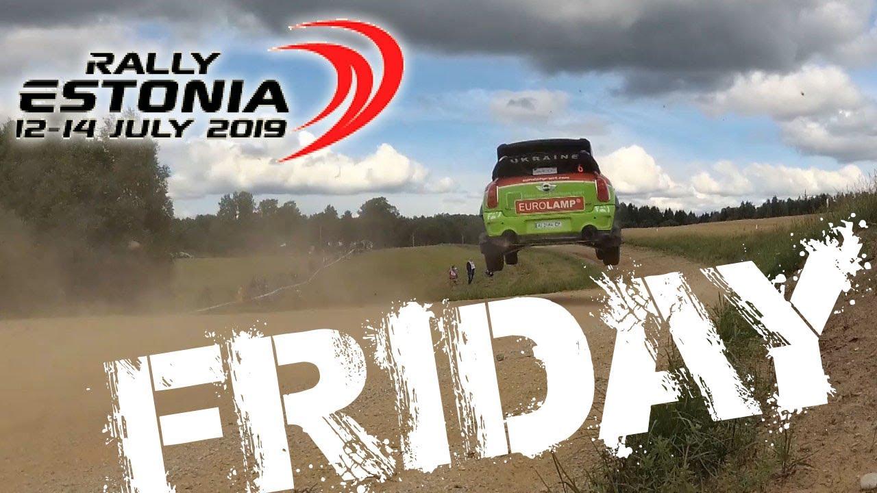Eurolamp WRT tiimi reedene päev Rally Estonial