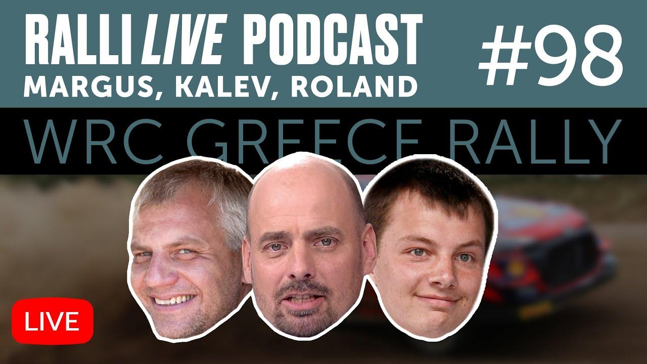 Betsafe Kreeka Ralli - EKO Acropolis Rally of Gods 2021 eelvaade