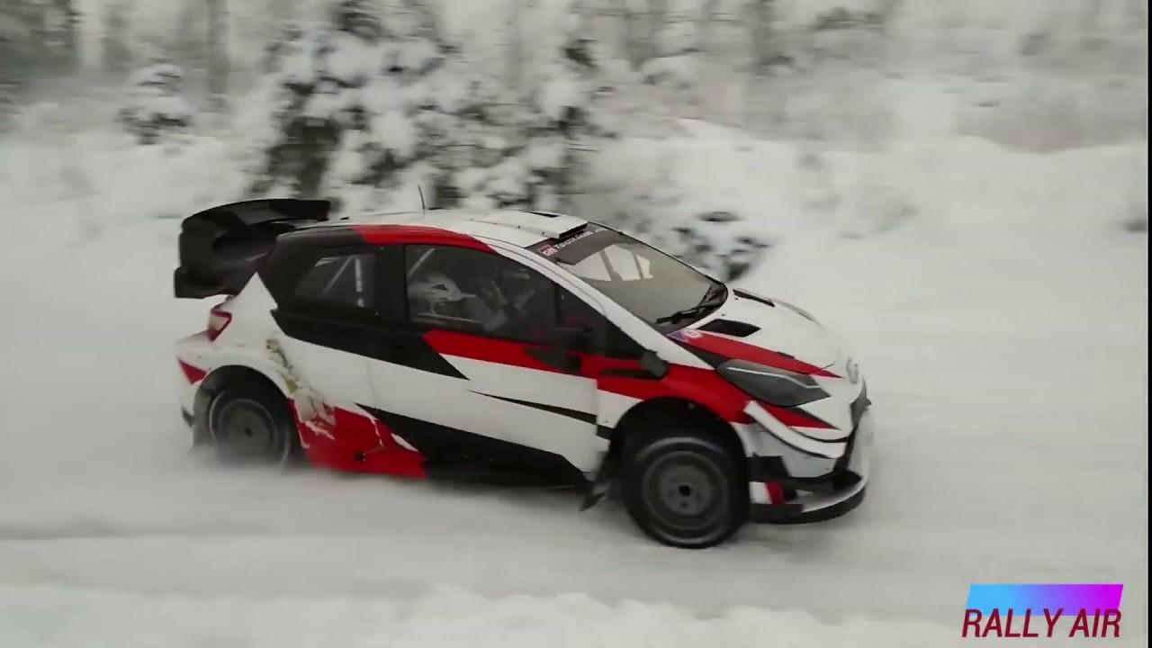 Rootsi ralli 2020 - rallieelne test, Ogier ja Toyota - RALLY AIR
