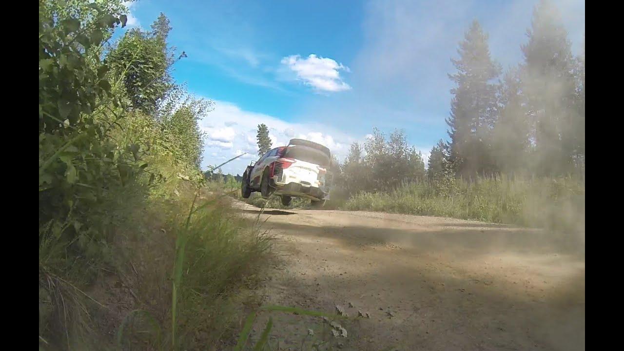 Ogieri test enne Rally Estoniat, TheTeevoman