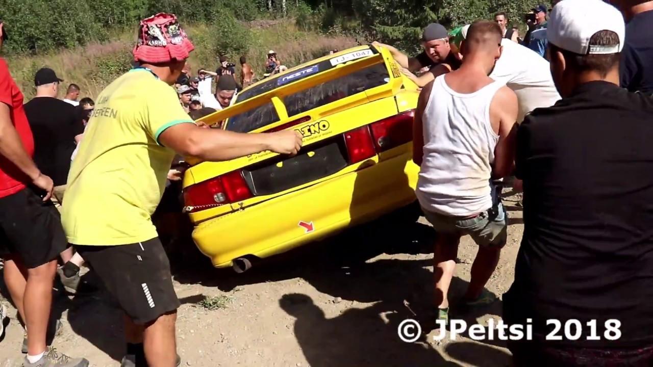 Soome ralli 2018 - SS12, JPeltsi