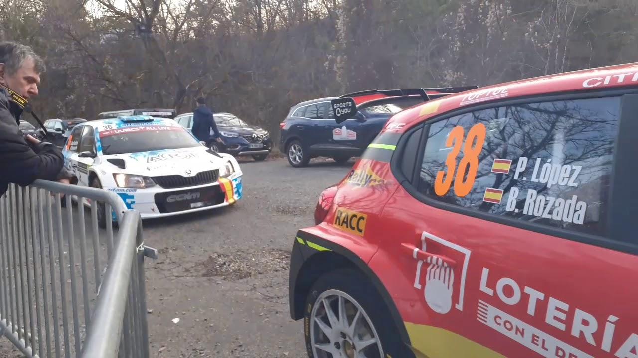 Monte Carlo ralli 2020 - shakedown testikatse, Médiastev _rallye
