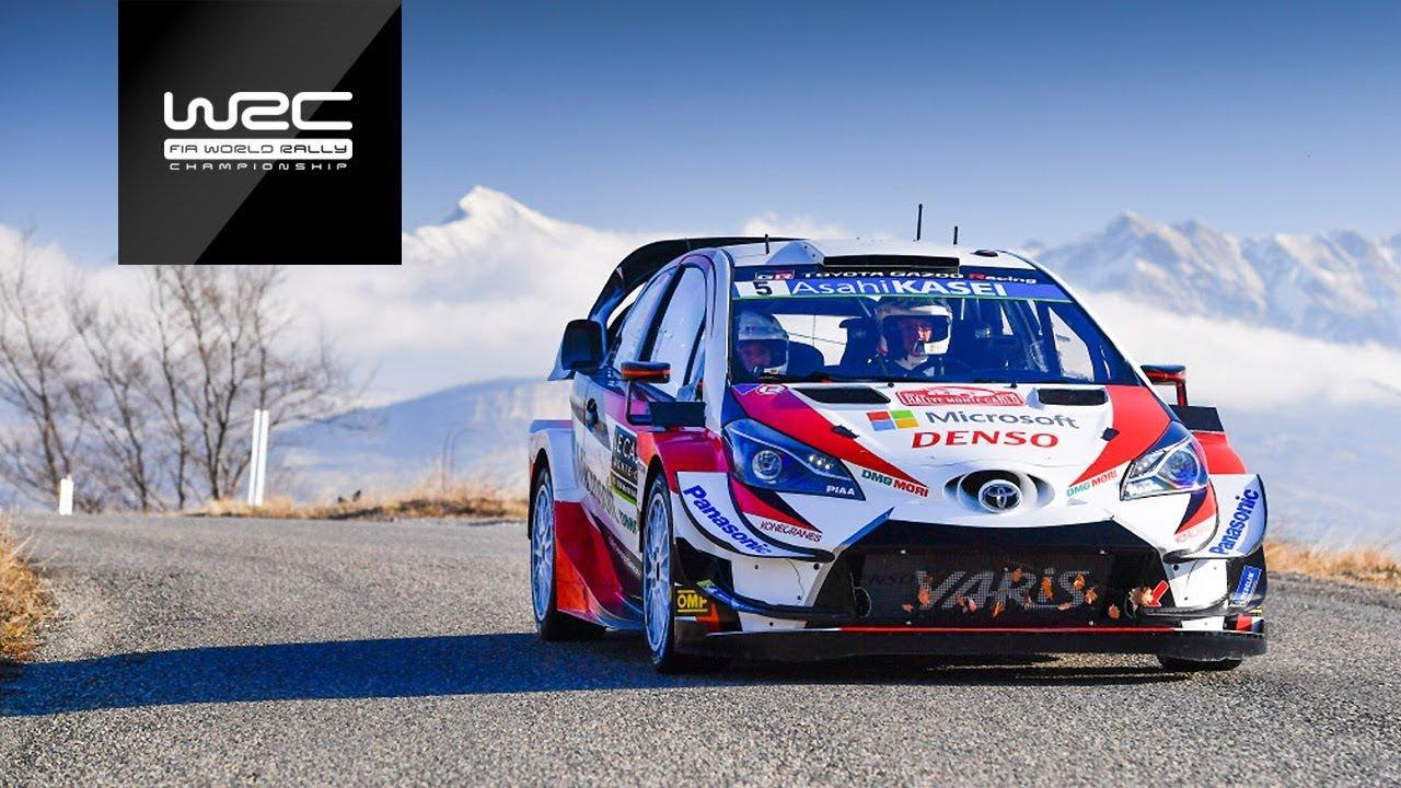 Monte Carlo ralli 2019 - testikatse, WRC