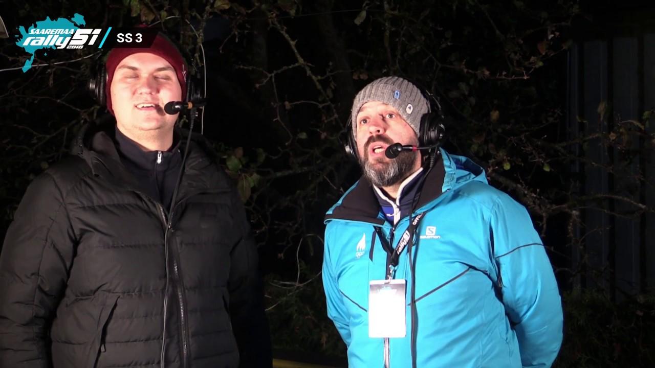 Saaremaa ralli 2018 - SS3, live ülekanne, Baltic Broadcasting