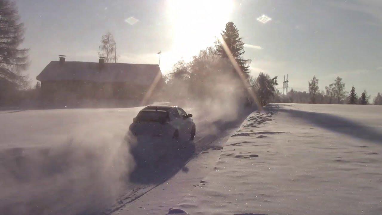Rovanperä Arctic Rally Finland eelne test, TheTeevoman