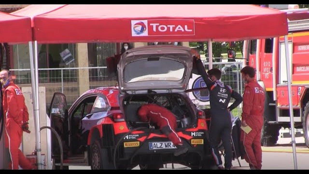 Vaata mis toimus Portugali rallil enne Fafe powerstage punktikatset