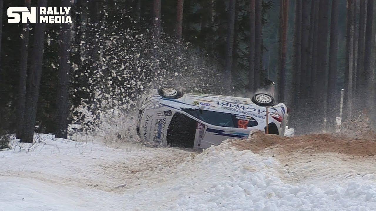 Rally Sarma 2019 - vihane kihutamine ja avariid, Sander Nurm RallyMedia