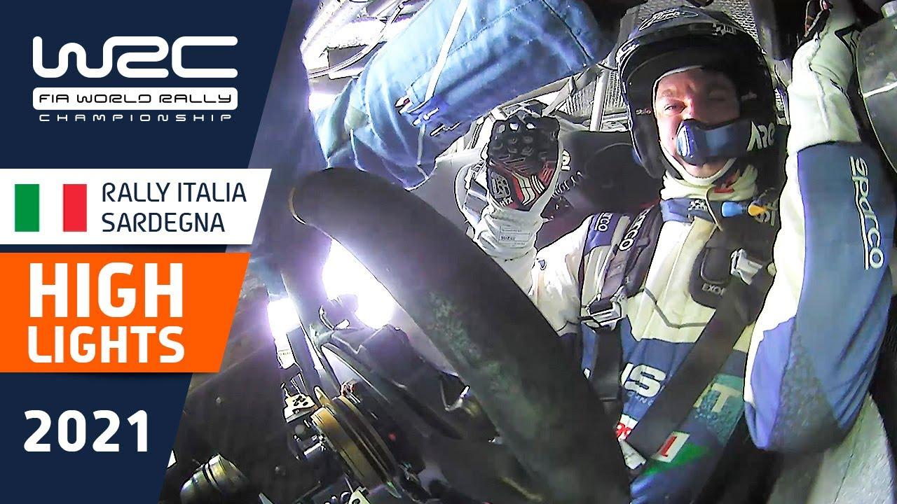 Sardiinia ralli 2021 kolme esimese kiiruskatse kokkuvõte, WRC