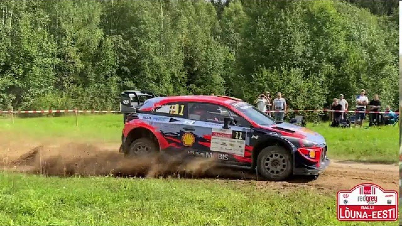 Lõuna-Eesti Ralli WRC ja R5 kõva andmine
