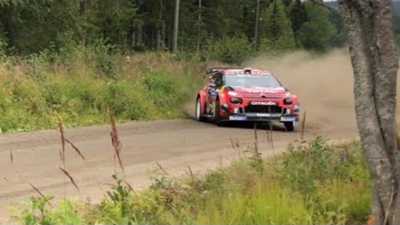 Soome ralli 2019 - testikatse, Niklas Karlen