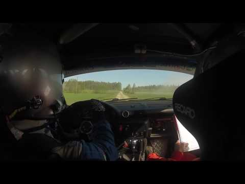 Neste Harju Rally 2017 - 2. päev, 5. kiiruskatse, Valev Vähi pardakaamera
