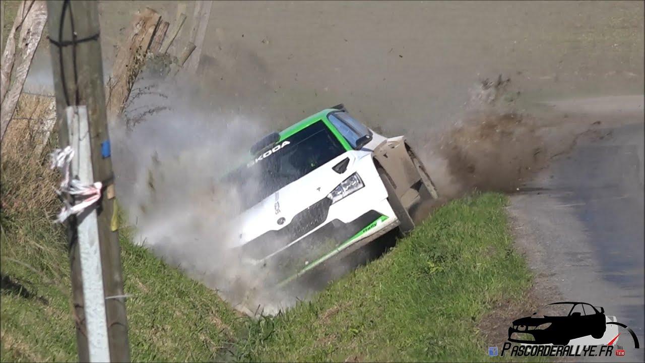 Solbergi ja Škoda test enne Ypres Rallyt, Pascorderallye. fr