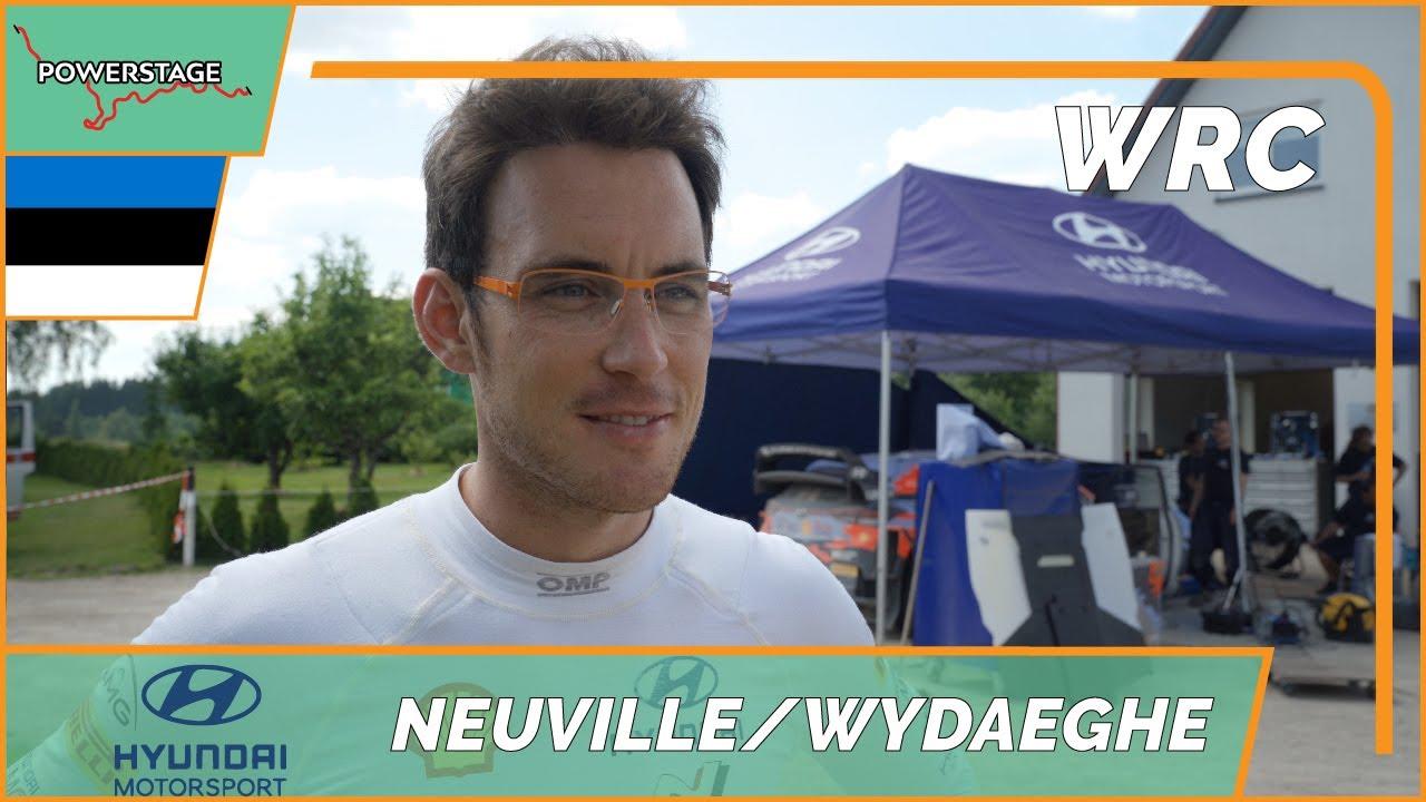 Neuville Rally Estonia 2021 eelne test, Powerstage