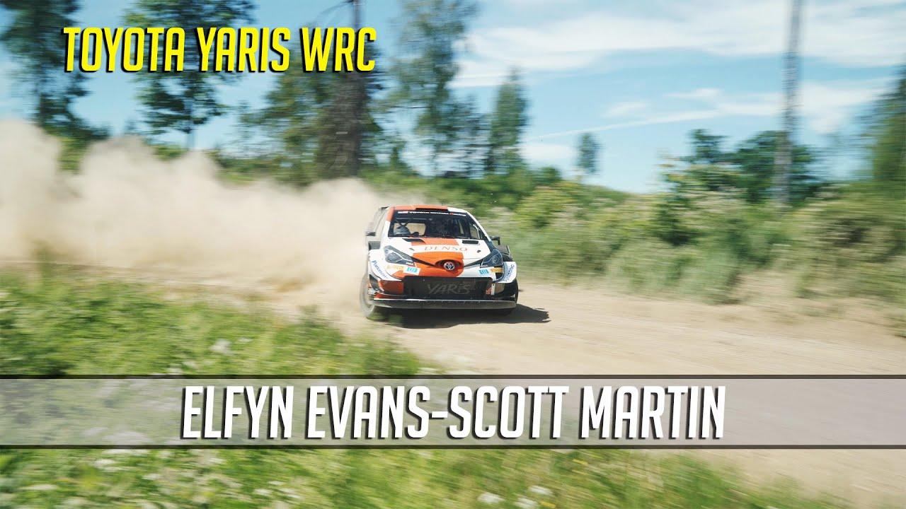 Evans testimas Rally Estoniaks Lõuna-Eestis, Powerstage