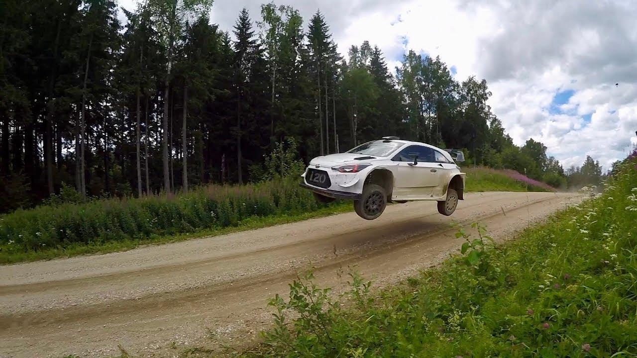 Soome ralli 2018 - rallieelne testimine, Hyundai, Neuville
