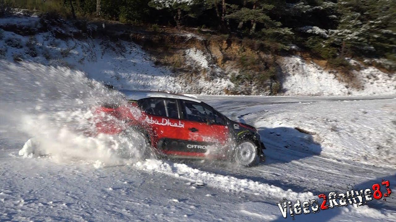 Monte Carlo ralli 2019 - rallieelne test, Lappi