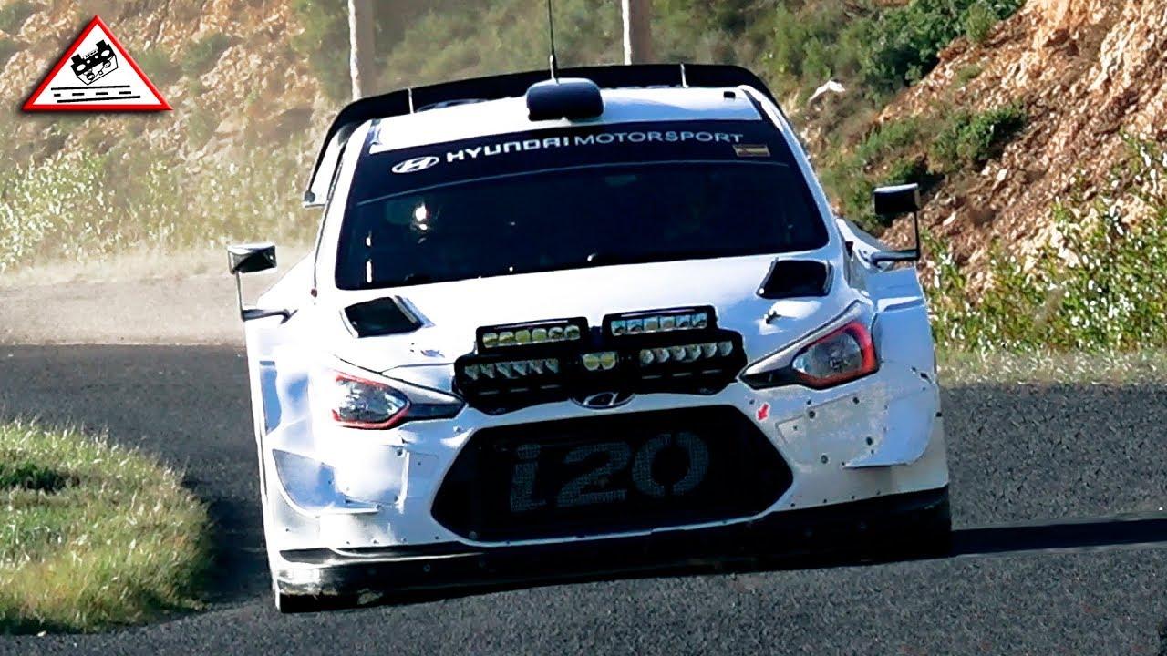 Monte Carlo ralli 2019 - rallieelne test, Sordo ja Mikkelsen