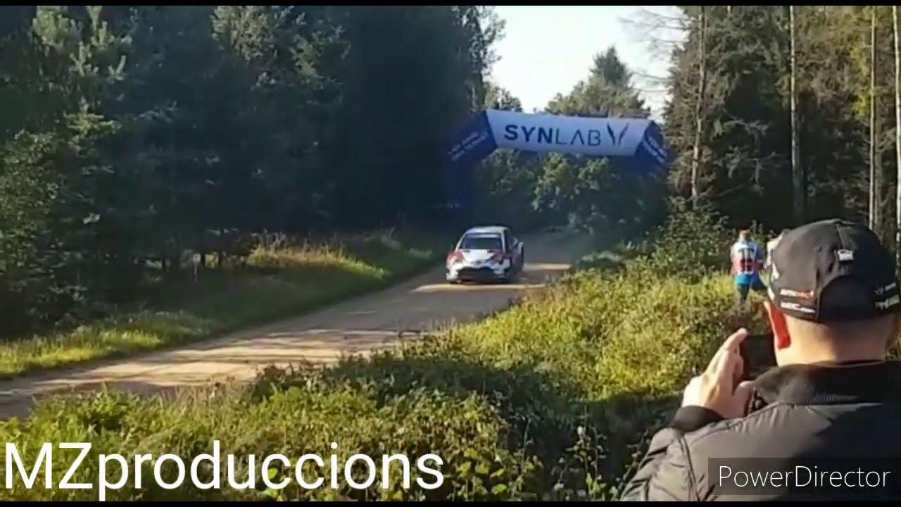 Rally Estonia shakedown testikatse, Marcel Cicres Parro