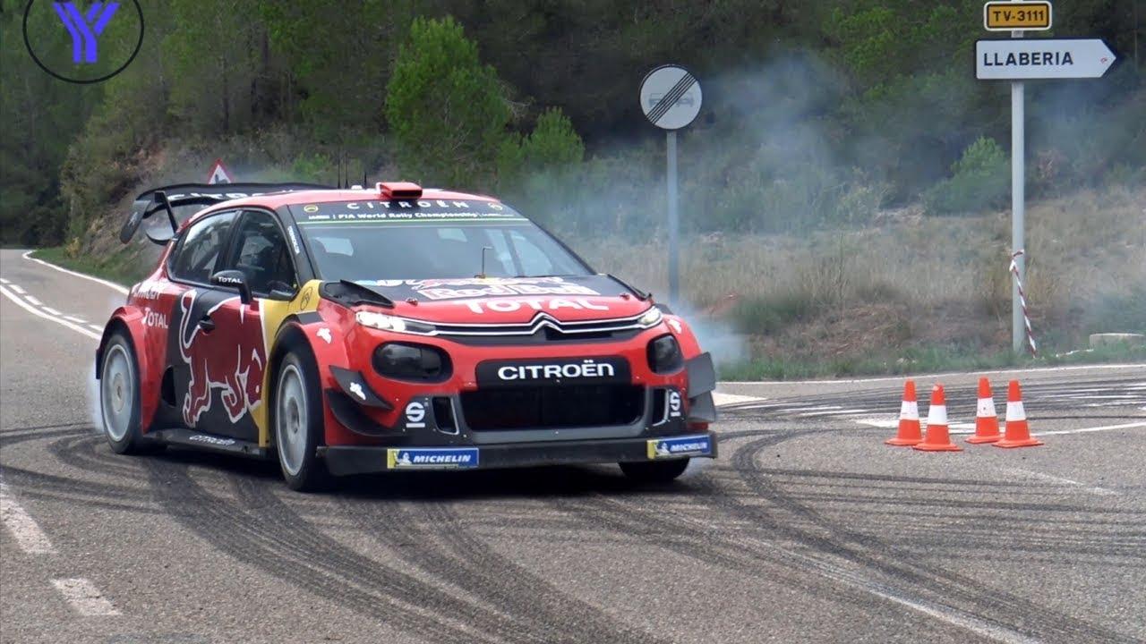 Hispaania ralli 2019 - rallieelne test, Citroen ja Ogier