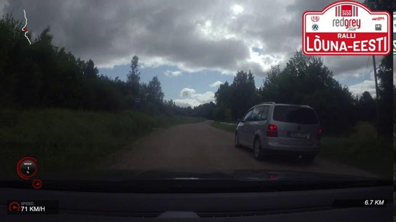 RedGrey Team Lõuna-Eesti ralli 2020 - SS4 Autospirit & SS6 Kagu Elekter