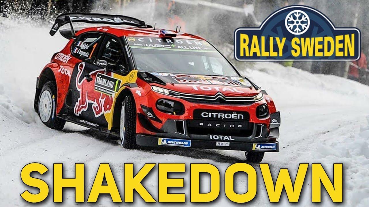 Rootsi ralli 2019 - testikatse, Ride Rallye