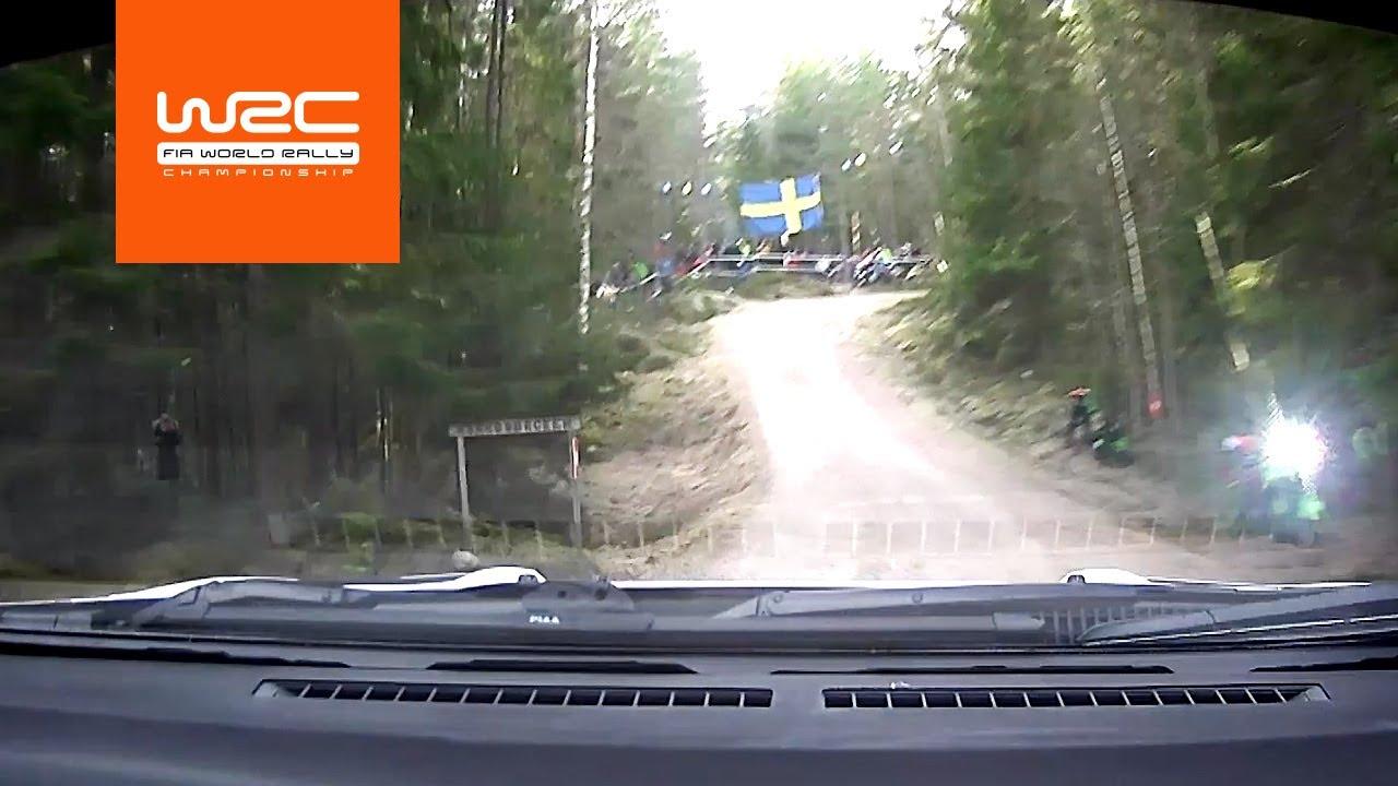 Vaata pardakaamerast kuidas sõitis Rovanperä shakedown testikatset