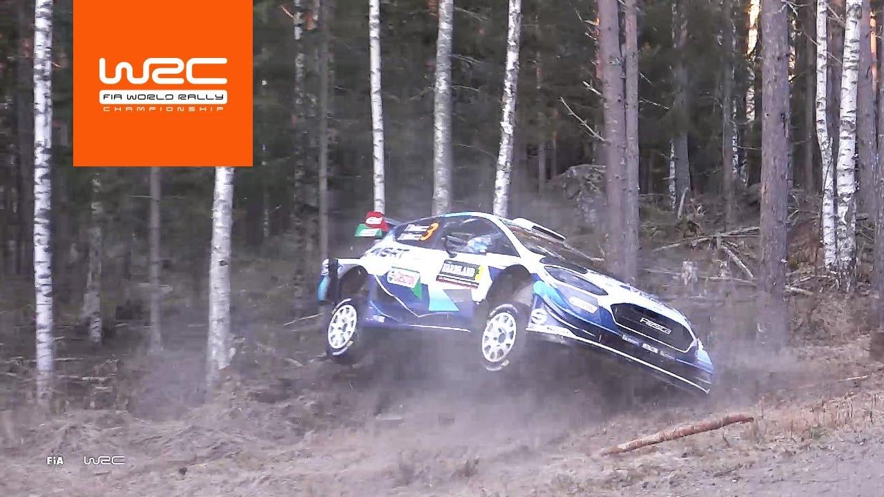 Rootsi ralli shakedown testikatse kokkuvõte, WRC