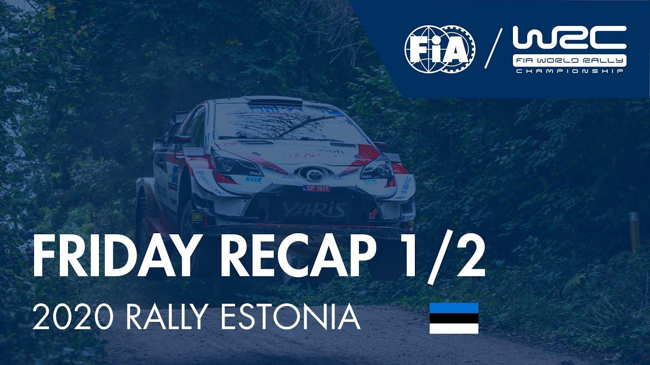 Rally Estonia testikatse, FIA