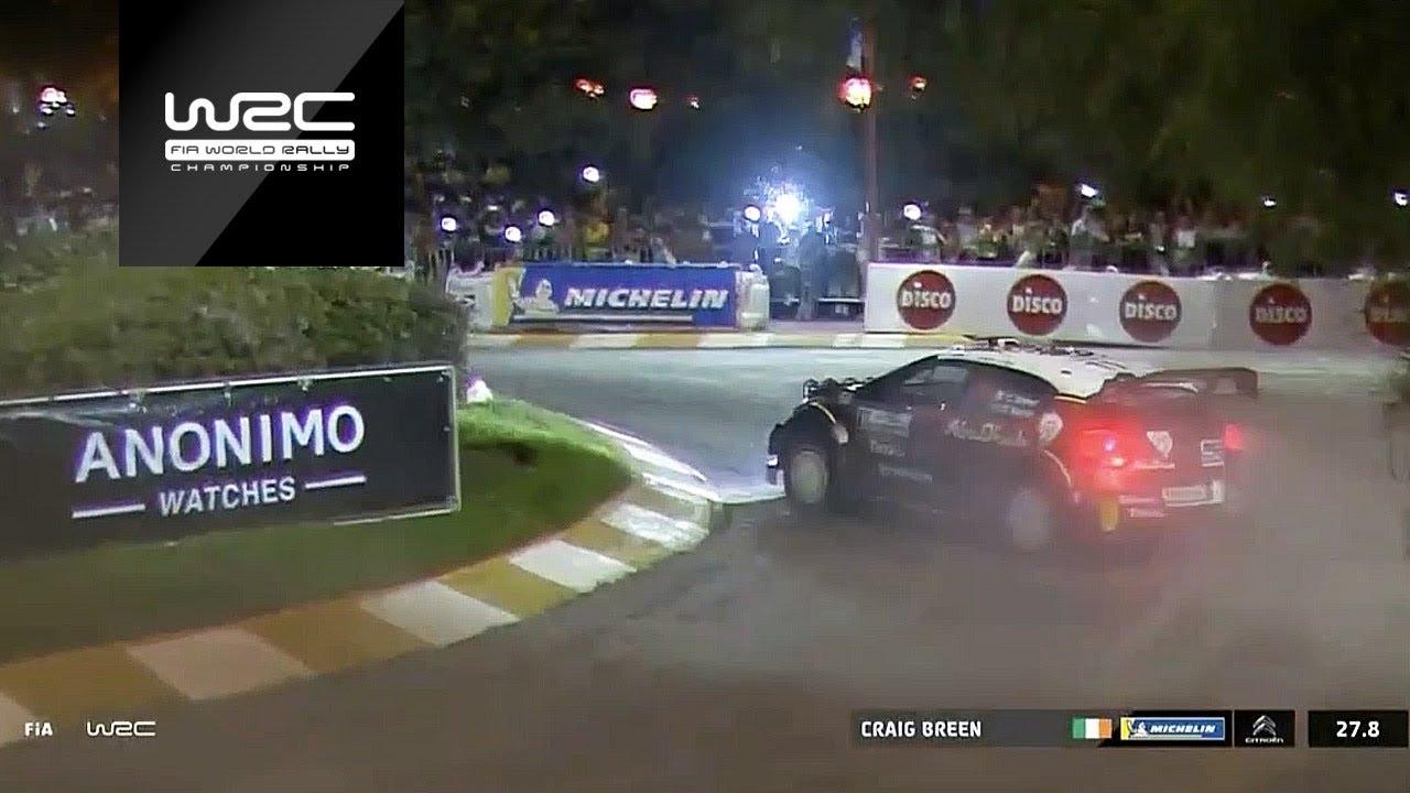 Argentiina ralli 2018 - SS1, Breen, WRC