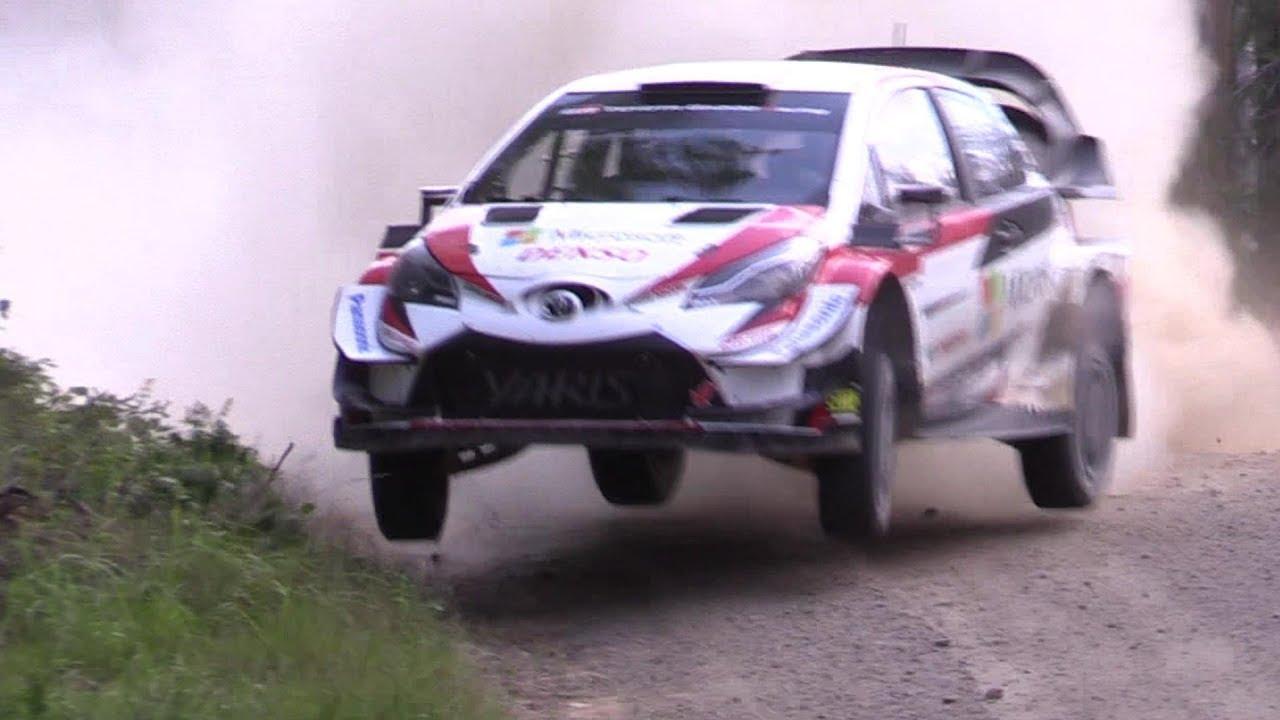 Vaata kuidas Latvala Soome ralli eel autot testis