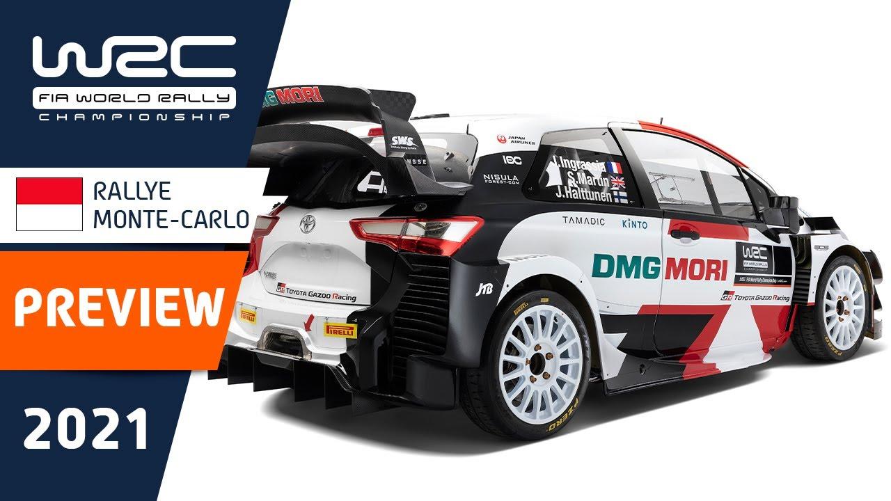 Monte Carlo Ralli 2021 eelvaate lühiklipp, WRC