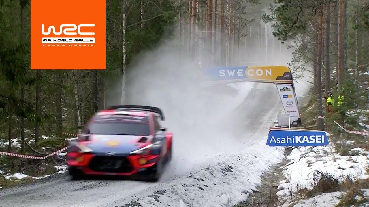 Rootsi ralli reedese päeva kõrghetked