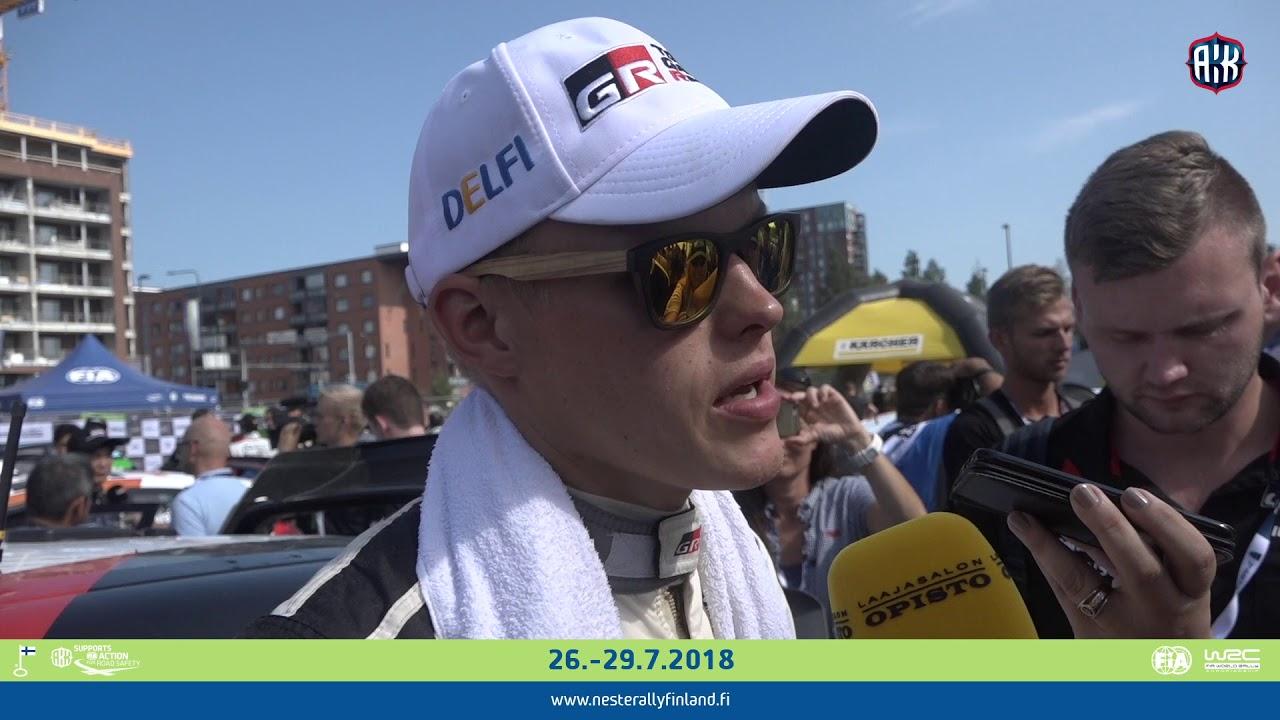 Soome ralli 2018 - 4. päev, Tänaku kommentaarid, Rally Finland