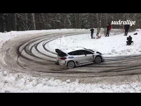 Monte Carlo ralli 2018 - rallieelne test, Elfyn Evans