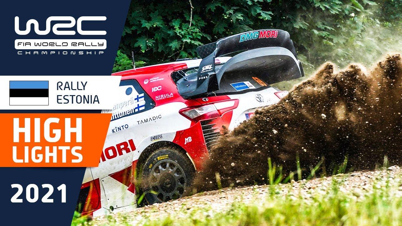 Rally Estonia kiirusatsete SS6 - SS9 kokkuvõte, WRC