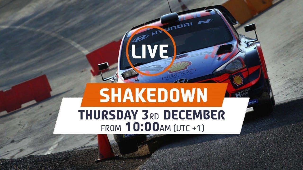 Monza Ralli shakedown testikatse otseülekanne järelvaadatavana