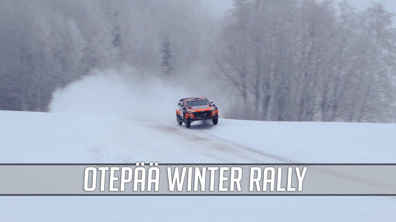 WRC ja R5 masinate võidukihutamine Otepää Talverallil