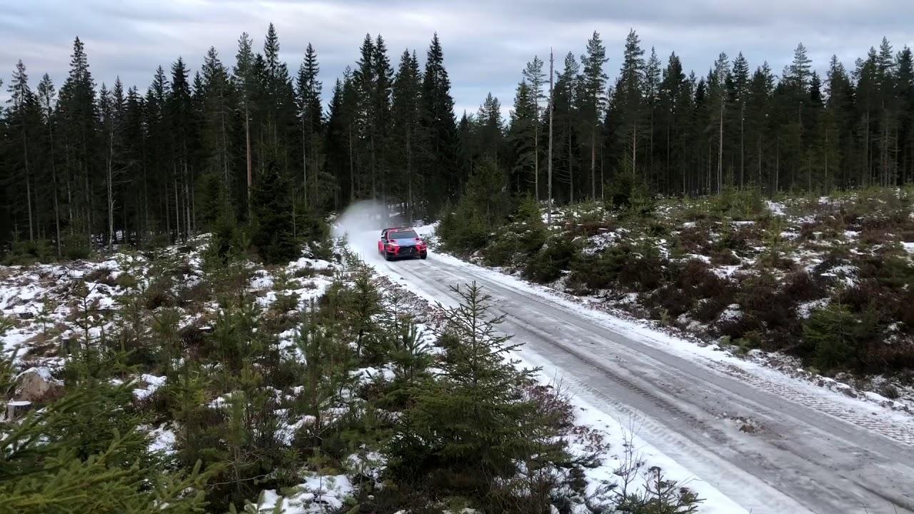 Vaata kuidas kulges Tänaku Rootsi ralli eelne test, Fredrik Gustavsson